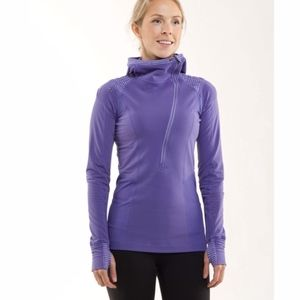 LULULEMON Run For It Pullover Purple 6